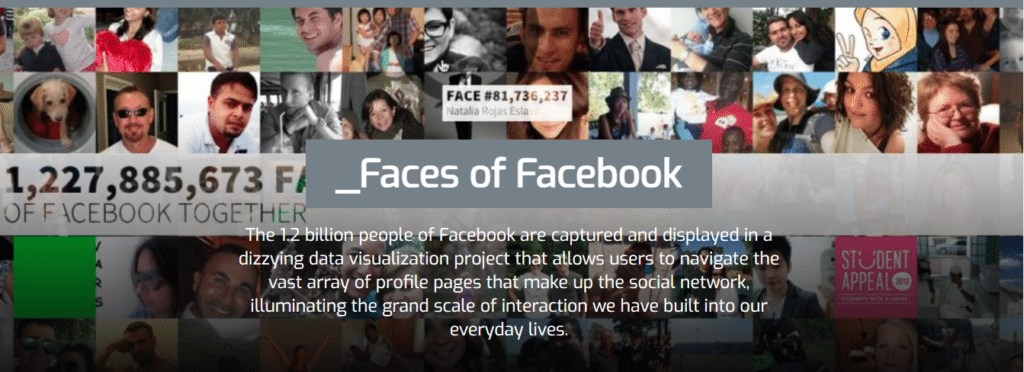 Faces of Facebook - Time-wasting websites